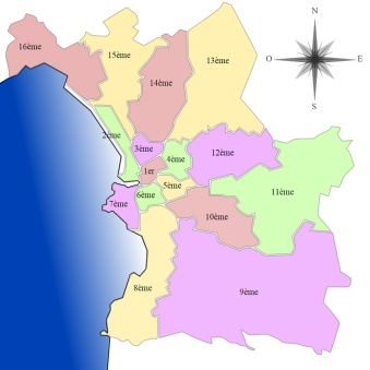 Arrondissements Marseille