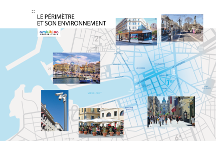 Ambition centre ville Marseille