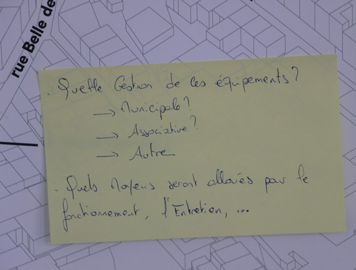Question Quartiers Libres